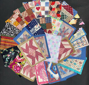 GRAB BAG 12 Miniature Dollhouse Bedspread Comforters only  1:24 scale SALE