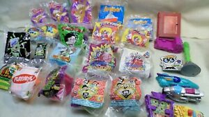 Lot of 27 Assorted 1990's Wendy's Kid's Meal Toys Mostly New in Package