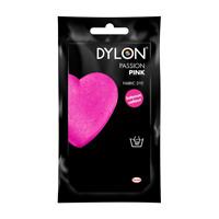 PASSION PINK DYLON HAND WASH FABRIC CLOTHES DYE 50g INTENSE PERMANENT COLOUR