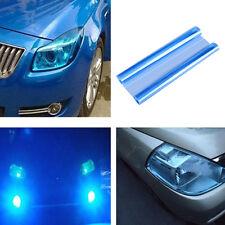 Car Truck Fog Light Headlight Taillight Tint Vinyl Film Sheet Sticker Decor Blue