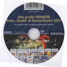 FRANZIS - Das große Foto-, Grafik- und Druckstudio 2021