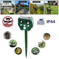 Outdoor Yard Solar Ultrasonic Bird Animal Deer Repeller Pest Deterrent Repellent