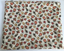 """Knit Pumpkin Print Fabric 60"""" Wide by 54"""" Long (1.5yds) Vintage"""