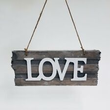 New LOVE Sign Rustic Wooden Decor Wedding Event Decoration