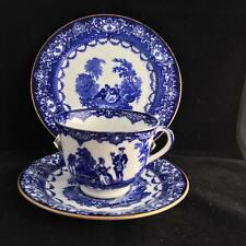 ROYAL DOULTON WATTEAU TRIO cup saucer and plate VINTAGE