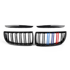 Front Bumper Kidney Double Slat Grille For BMW E90 Sedan Wagon 320i 2007 MColor!