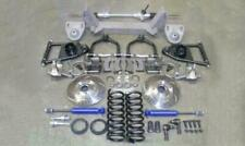 """1937-1939 Chevy Truck Mustang II Front Suspension Kit Manual 2"""" Drop Slotted"""