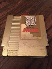 The Legend Of Zelda Nintendo NES Gold Cart Works NE4