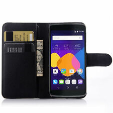 "HOUSSE ETUI COQUE CUIR LUXE PORTEFEUILLE A RABAT ALCATEL ONETOUCH IDOL 3 (4.7"")"