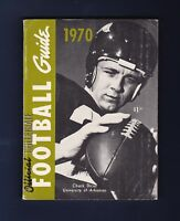 1970 Official NCAA Football Guide with Chuck Dicus pictured on the cover