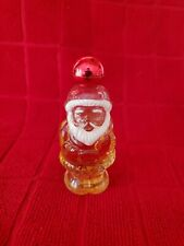 Vintage Avon Jolly Santa Heres My Heart Cologne Bottle with some perfume