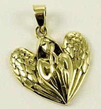 Ciondoli di bigiotteria in bronzo con cuore in bronzo