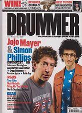 DRUMMER Magazine No 71 (September 2009), Jojo Mayer & Simon Phillips