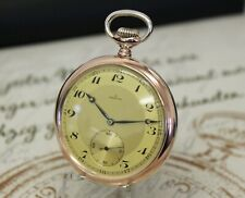 ZENITH GRAND PRIX PARIS 1900 Taschenuhr Silber Kaliber 18-28-3-P pocket watch