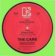 """CARS - BEST FRIEND'S GIRL - WEA - U.K.- 7"""" PICTURE DISC"""