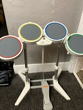 Harmonix 19092 Wired USB Nintendo Wii Rock Band Drum Set Controller With Pedal