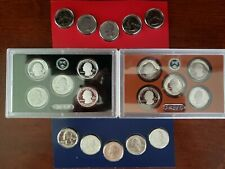 ALL~20 * 2019 QUARTERS 5 SILVER 5 CLAD PROOF 10 CLAD WITH P&D FROM U S MINT SETS