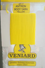 Veniard Antron Body yarn aby-17 yellow