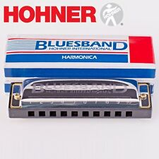 HOHNER BLUES BAND HARMONICA IN BOX CASE – Key C. GREAT FOR BEGINNERS