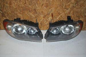 2008-2011 BMW 128i 135i Headlight Halogen Headlights Set Left and Right Pair OEM