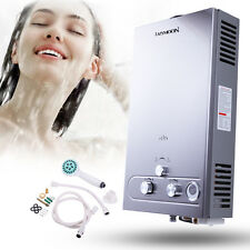 12L Stainless Instant Boiler GAS LPG Hot Water Heater Propane Tankless Stainless