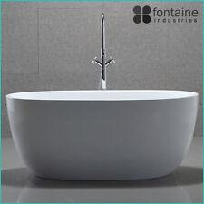 Ariana Freestanding Bath 1300 Compact Acrylic White Round Modern Bathtub