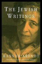 The Jewish Writings by Hannah Arendt (2007, Hardcover)