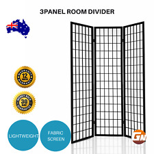 Artiss 3 Panel Wooden Room Divider Privacy Screen Door Decor Office Partition