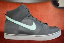 NEW NIKE DUNK HIGH LR Size 14 BLACK Mint Grey Green Anthracite 487924 030