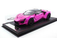 #SA003-67 - FrontiArt / SophiArt Fenyr Supersport (W Motors) - Flash Pink - 1/18