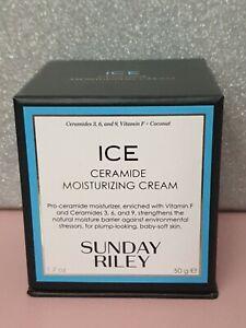 NEW Sunday Riley Ice Ceramide Moisturising Cream 50g BNIB