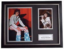 Donny Osmond Signed FRAMED Photo Autograph 16x12 display Music Memorabilia COA