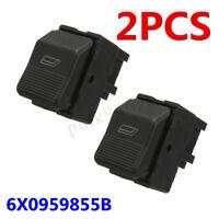 2x Elettrica Alzacristalli Interruttore Per Vw Lupo Polo Seat Ibiza 6X0959855B