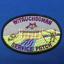Boy Scout OA Witauchsoman Lodge 44 Service Patch Order Of The Arrow Patch