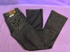 Womens SINFUL Cotton Blend Flap Pocket Distressed 28X32 Jeans