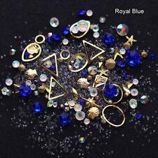 Nail Art 3D DIY Rose Rhinestones Jewelry Gems Mix Nail Art Decoration Glitter