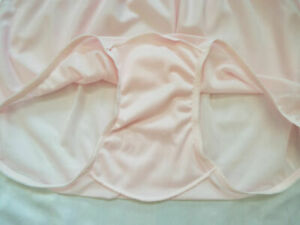 Double-Layer Nylon-Crotch HIPSTER Panties Sizes 7-10 SofterSilk Made in USA NEW