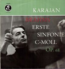 Brahms-Symphonie nº 1-wcx 1053 LP, Herbert de Karajan, Philharmonia
