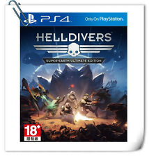 PS4 Helldivers: Super-Earth Ultimate Edition 絕地戰兵 中英文版 SONY SCE Action Games