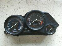 740 Kawasaki ZZR1100C Speedo Clocks Instruments Set UK MPH 43700 Miles ZZR1100
