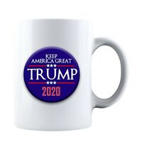 Trump 2020 Keep America Great - Ceramic Coffee Mug Tea Cup