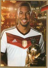 Limited, Limitierte Edition DFB Autogrammkarte! Jerome Boateng!! RAR!!, Gold