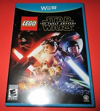 LEGO Star Wars:The Force Awakens Nintendo Wii U *Factory Sealed! *Free Shipping!