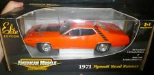 1:18 ERTL American Muscle 1971 PLYMOUTH ROADRUNNER ELITE DIECAST