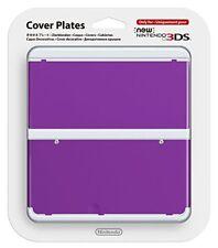 New Nintendo 3ds Cover Plates No.035 (purple) [Nintendo 3DS]