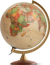 Globo terráqueo Colombo de 30cm, cartografía actualizada, español, con luz