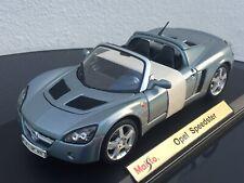 Opel Speedster 1:18 limitiert Sondermodell STANDOX liquid Silber Rarität Maisto