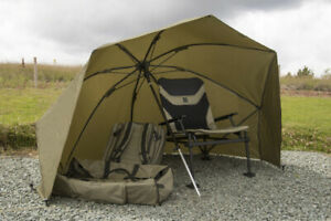 NEW Korum graphite brolly shelter *FREE POST*