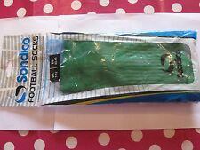 Sondico Men's Green Football Socks Size 7-12 Brand New in Bag