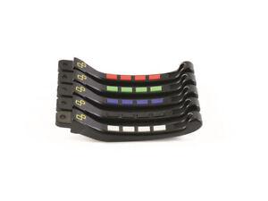 Kit levier repliables/reglables LIGHTECH Alien avec inserts caoutchouc noir